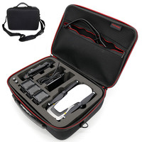 For DJI Mavic Drones Handbag Carry case EVA Hard shellPortable Spark box for DJI Drone and Accessories(4 Batteries) Storage Bags