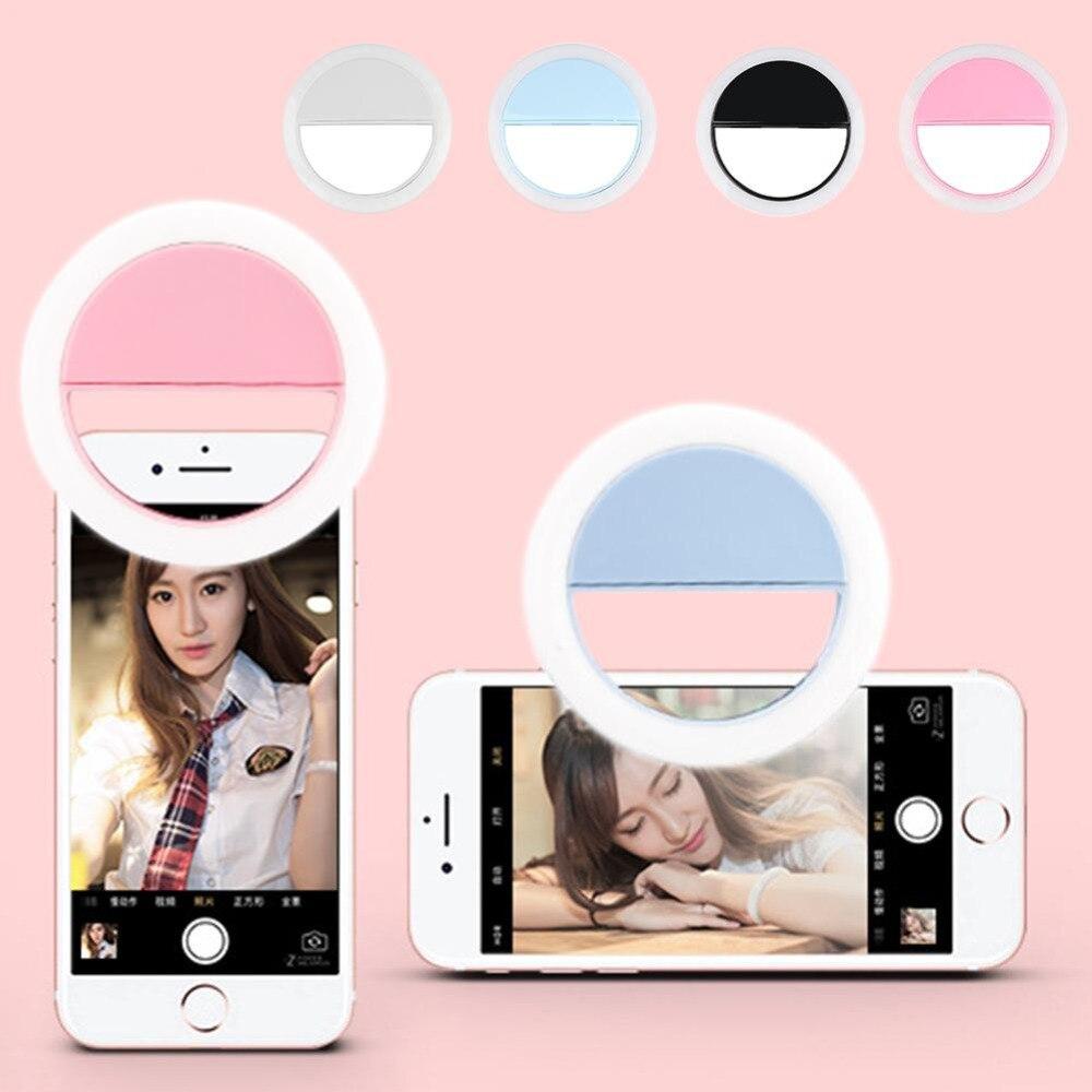 Judixy Универсальный USB зарядка светодиодный Selfie Flash Light для Iphone 3 уровня селфи освещение ночной темноте селфи повышения для мобильный ...
