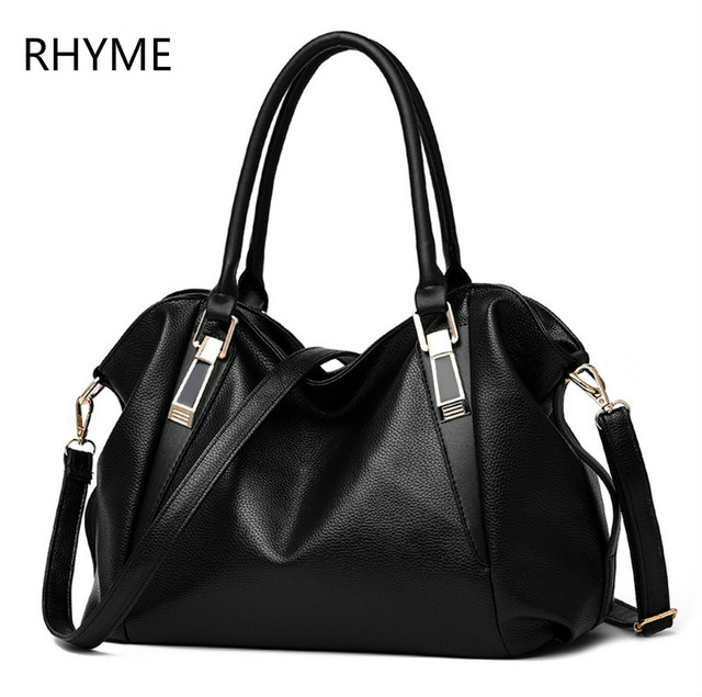 Rhyme New American LUXURY Style Women Shoulder Bag Brand Designer handbags Crossbody bag  Soft  Tote  Top-handle Shoulder Bags