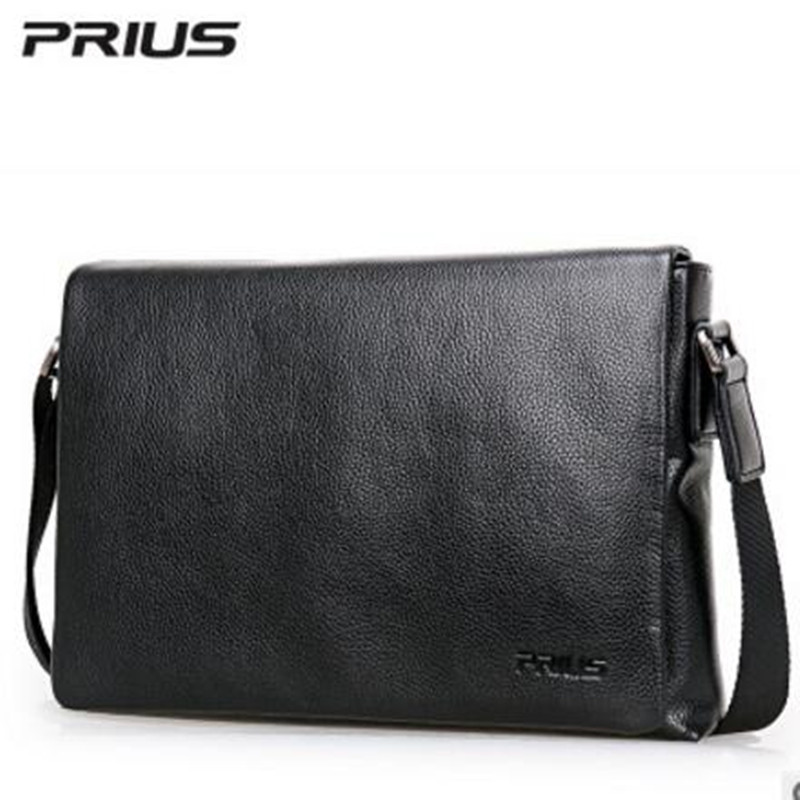 PRIUS Brand Mens Casual Package High-end Fashion 2017 New Mens Package Shoulder Bag Men Messenger Bag Shoulder Bag