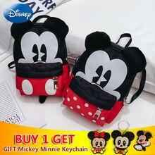2019 Fashion New Disney Bag Cute Mickey Minnie Waist Pack Female Shoulder Student Classic Messenger Storage Plush Backpack