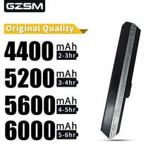 5200MAH Laptop Battery FOR ASUS 70-NXM1B2200Z A31-K52 A32-K52 A41-K52 A42-K52 A52 A52F A52J K42 K42F K52 K52Jr K52JK K52JE все цены
