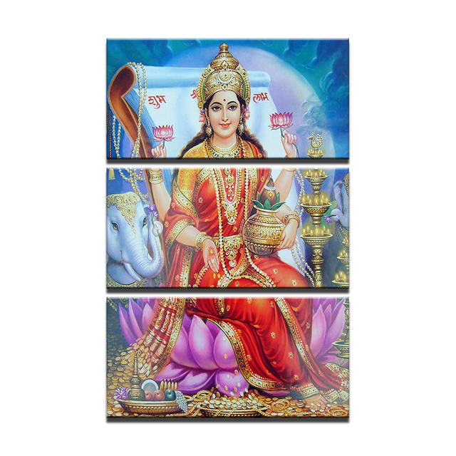 Hindu goddess lakshmi devi apologise, but