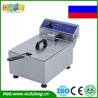 Household And Commercial 10L Electric Deep Fryer Frying Machine Stainless Steel Suite Food Machine