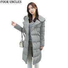 2016 winter newest cotton coat fashion casual warm women parkas hooded solid slim mid-long length women cotton jacket,MM1340