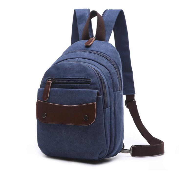 1a873a0f224ef Yesetn çanta 121316 yeni sıcak unisex kadın erkek küçük tuval sırt çantası  rahat seyahat çantası