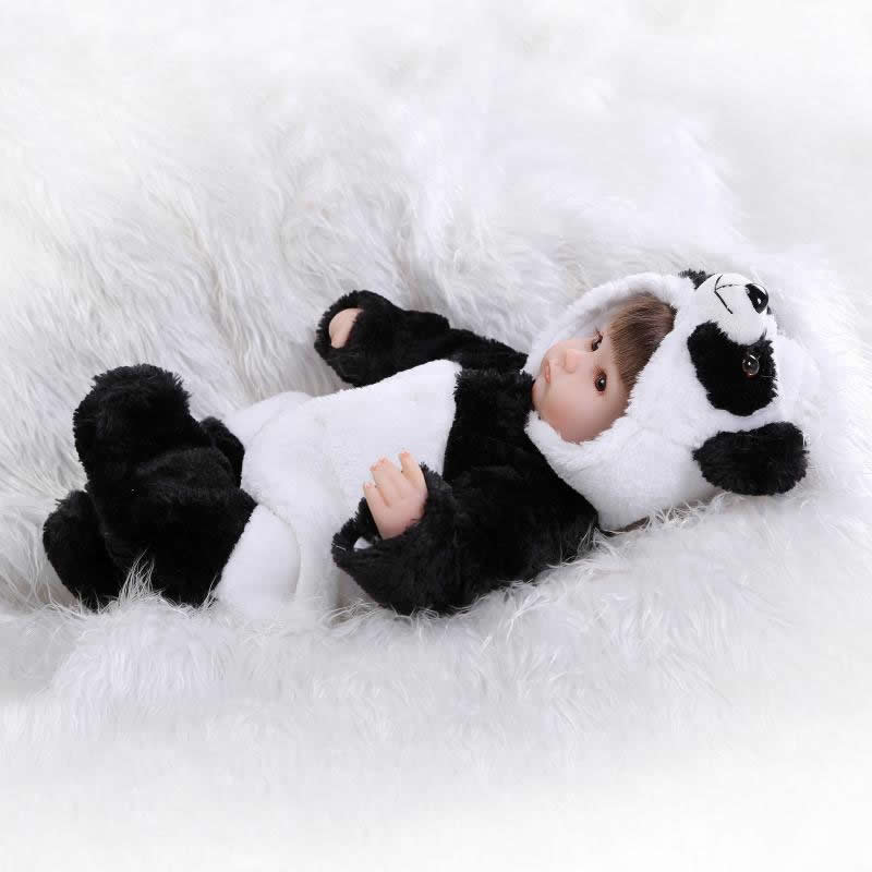Popular 17 inch reborn babies doll lifelike soft silicone newborn baby dolls real touch gift for children birthday 15 real reborn babies silicone reborn dolls for girls children s birthday gift new lifelike baby newborn dolls with clothes