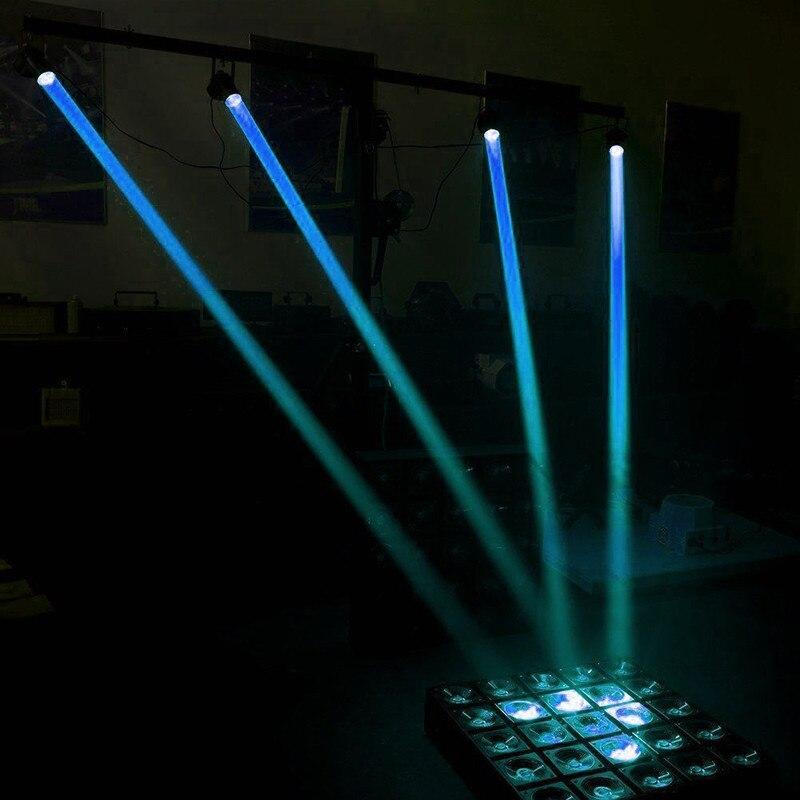 1 Вт RGBW светодиодный сценический светильник ing PinSpot луч Точечный светильник Профессиональный DJ диско вечерние KTV подсветка сценический светильник - Цвет: Blue Light