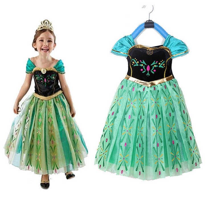 c51892d0f9f1b Detail Feedback Questions about Hot,2016 Girls Summer Party Princess ...