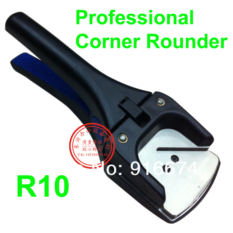 Free shipping HOT Professional 1 pc New R10 Hand Held ID Business Criedit PVC Paper Card Corner Rounder Punch Cutter Pliers