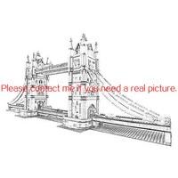 17004 4295pcs City Tower Bridge Lele Building Block Compatible 10214 Bricks Toy