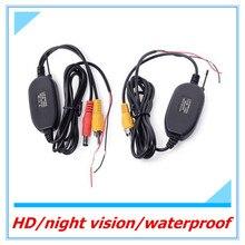 O envio gratuito de 2.4 Ghz Sem Fio Módulo Receptor Transmissor de Vídeo Para Conexão Reversa de segurança Do Carro Câmera de Visão Traseira e Monitor