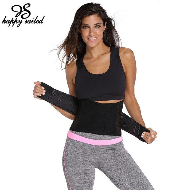 5 Colors Ventilate Power Abdomen Belt Fitness Waist Trainer Hot Sale women lingerie Corsets Shaper Slimming Belly Band 50011