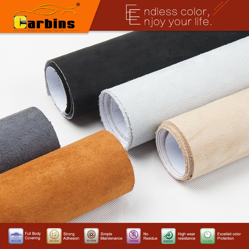 carbins self adhesive fabrics for car interior styling color changing roof fabric good stretch. Black Bedroom Furniture Sets. Home Design Ideas