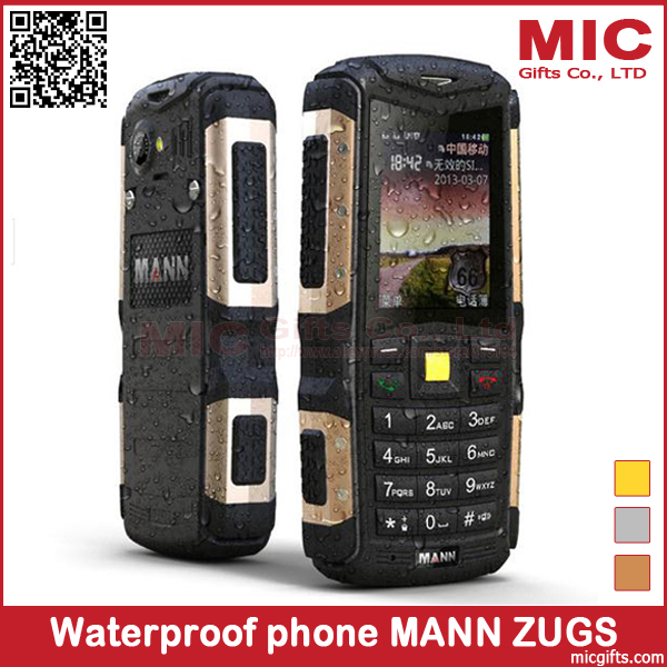 Hungarian Swedish Danish Waterproof Mobile Phone Dustproof Shockproof Rugged Cell Phones 2.0MP MANN ZUG S IP67 P375