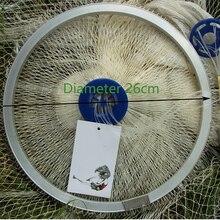 Lawaia Fishing Net Casting Diameter2.4-7.2m Usa Fishing Network Throwing Hand Nylon Mesh With Ring Net 3.6m Fishing Net