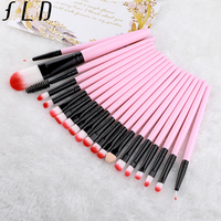 FLD 20 Pieces Makeup Brushes Set Eye Shadow  1