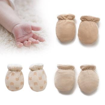 Prezent zimowe rękawiczki zagęścić ciepłe polary śliczne chłopcy dziewczęta antypoślizgowe rękawiczki ogrzewacz dłoni dla noworodka tanie i dobre opinie COTTON Z wełny Unisex