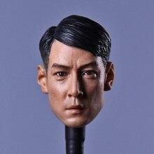 Custom 1/6 Scale Daniel Wu Head Sculpt Short Hair Version Overheard Joe Szema Headplay for 12inch action figure toy