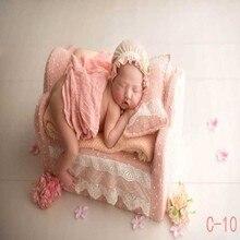 Новорожденная фотография кровать Детская фотография Реквизит Детские Мини-кроватки Младенческая диван фотография Аксессуары для моделирования