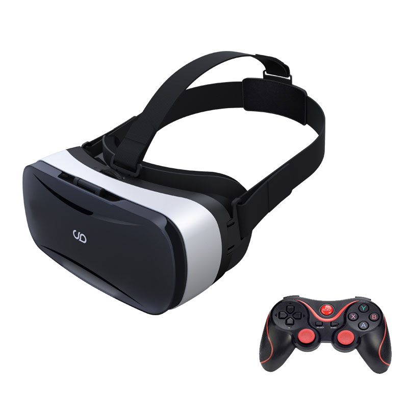 JIMU font b VR b font Virtual Reality 3D Glasses 96 Degree for 5 0 5