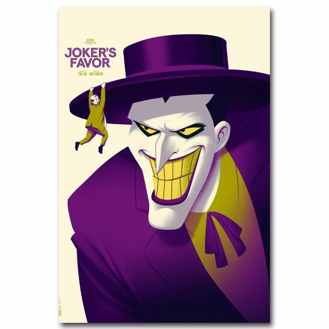 J2840 Batman Joker Dc Superheroes Comic Cartoon Pop 14x21 24x36