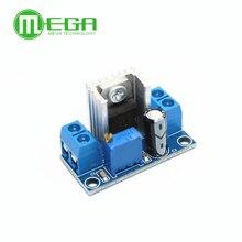 100 pces novo lm317 DC DC step down dc conversor placa de circuito módulo de fonte de alimentação