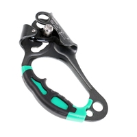 CE Certification Left Hand Ascender Rock Climbing Tree Arborist Rappelling Gear Equipment Rope Clamp for 8~13MM Rope