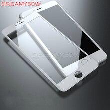 Премиум Настоящее Полное покрытие закаленное стекло пленка для iPhone 8 Plus 7 6 6S Plus X SE 5s 5 5C 9H Защитная пленка для экрана