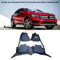 For Mercedes Benz GLA X156 2015 - 2016 Right & Left Hand Drive Black Front Rear Floor Mat Carpets Pad cover