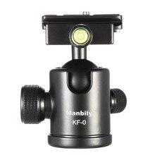 KF-0 Manbily Штатив Камеры Шаровой Головкой Из Алюминиевого Сплава Ballhead Панорамной Головки Рельс Головы с 2 Встроенный Spirit Levels