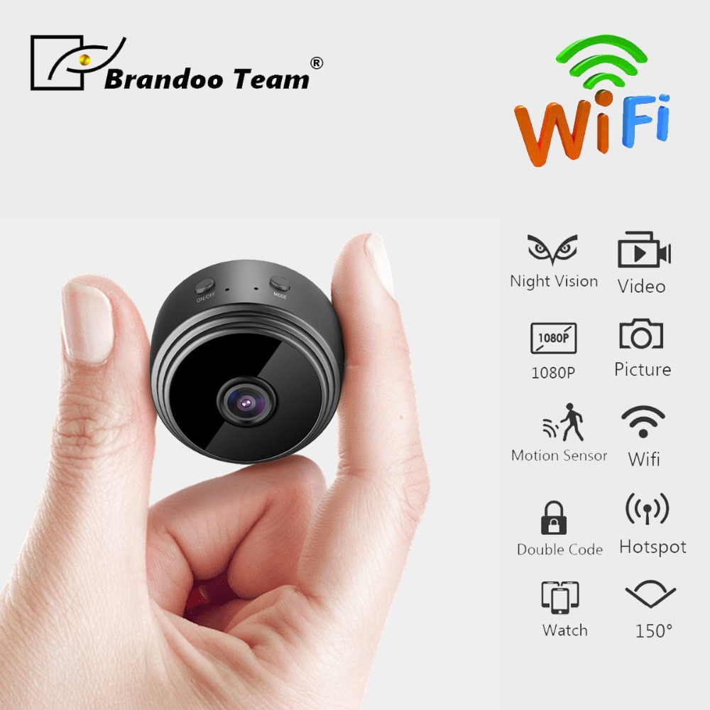 Wifi IP Mini Camera Wireless 1080P for Video Recording WIFI DV Portable Recorder,free shipping invisible night version wifi ip mini camera wireless 1080p for video recording support remote control portable recorder pk q7