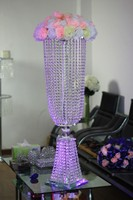 crystal wedding centerpiece,wedding table top chandeliers,flower stand ,without flower,home decoration,wedding cake stand