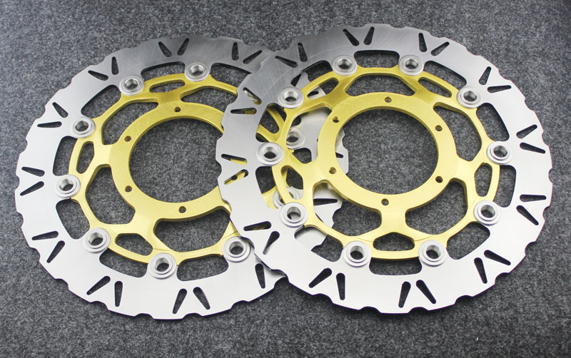 Motorcycle Front Brake Disc Rotors For CBR 600 RR  03-11  Universel motorcycle front