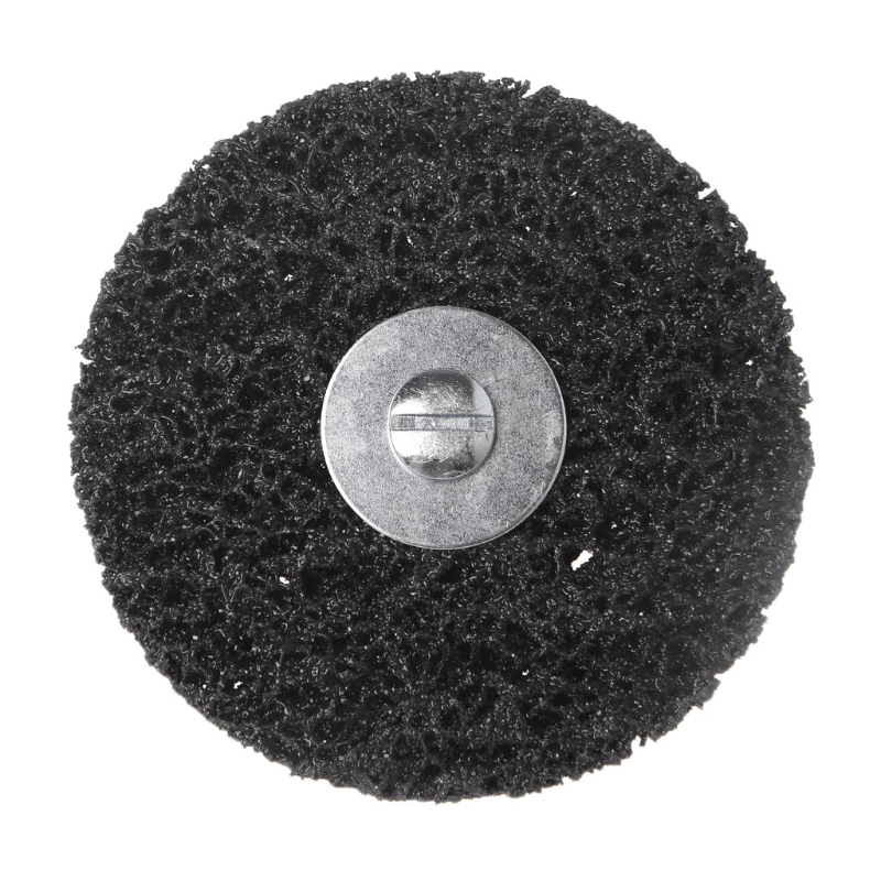 """1//4/"""" Shank Poly Strip Disc Grinding Abrasive Wheel for Removal Rust Rotary Tool"""