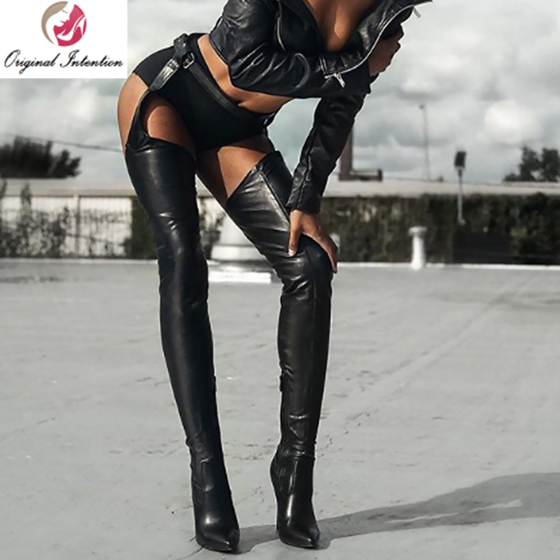 Sexy women in thigh high boots