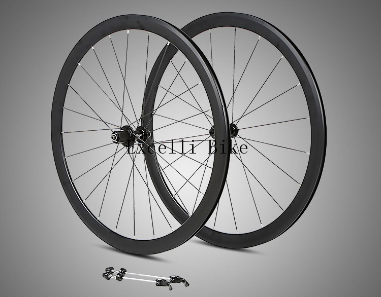 700CC Wheels Road Bicycle V brake 40MM Knives Circle Aluminium alloy Rim racing Bike Ultralight Aluminum Alloy two-Perlin 700cc wheels disc brake wheels road bicycle v c brake 30mm alloy rim 29inch cross country road bike silver frame light wheel