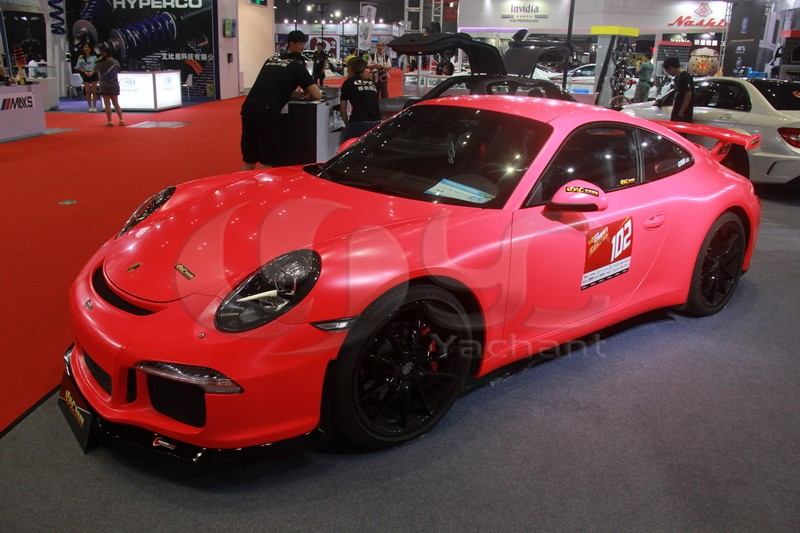 2012-2014 Porsche 911 991 Carrera & Carrera S GT3-RS Style Front Bumper FRP (20)
