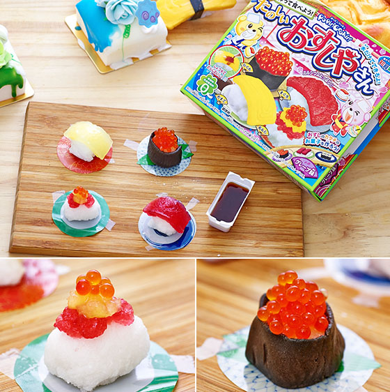 diy mini comida japonesa sushi juguete cocina de juguete de simulacin cocina de juguete nios