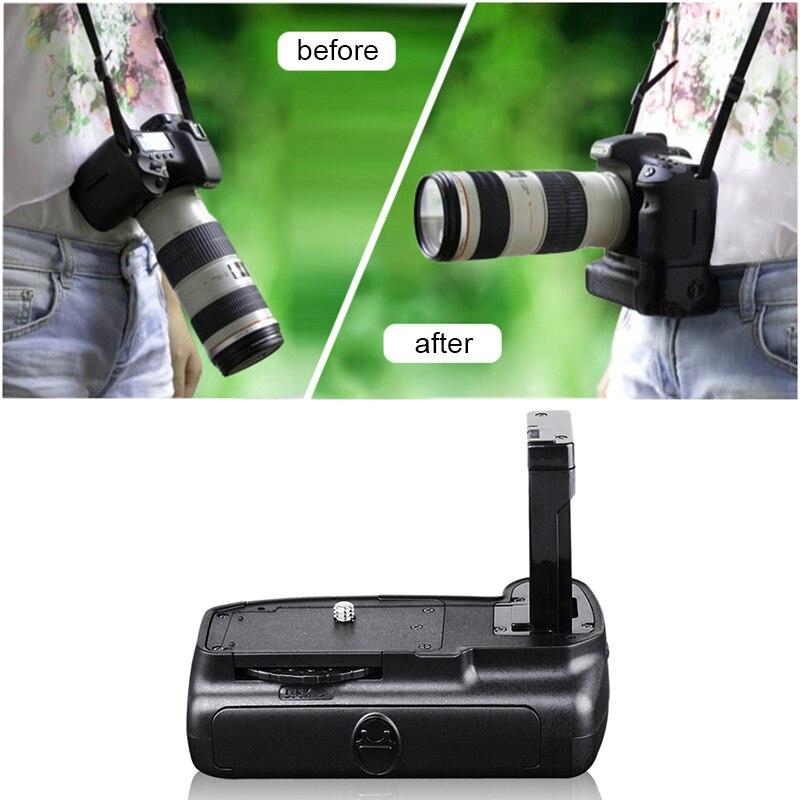 Poignée de main de batterie verticale chaude support de prise en main pour avec obturateur Nikon D5100 D5200 D5300 D3100 livraison directe d'appareil photo