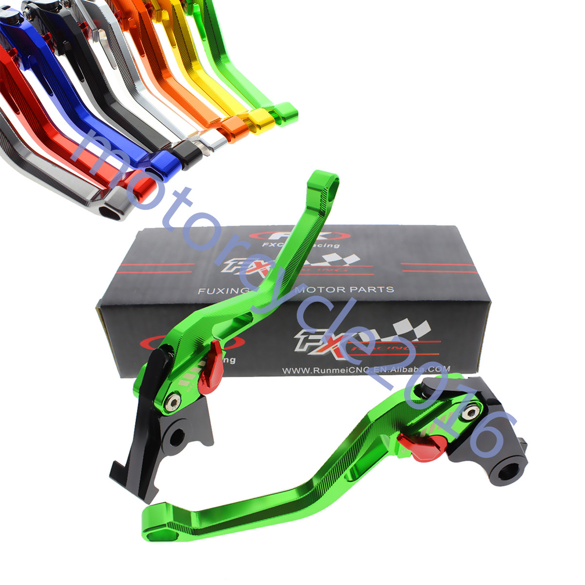 FXCNC CNC 3D New Rhombus Hollow Adjustable Brake Clutch Levers 8 Colors A Pair For BMW R1200R R1200RT/SE R1200GS K1200S R1200ST billet alu folding adjustable brake clutch levers for motoguzzi griso 850 breva 1100 norge 1200 06 2013 07 08 1200 sport stelvio