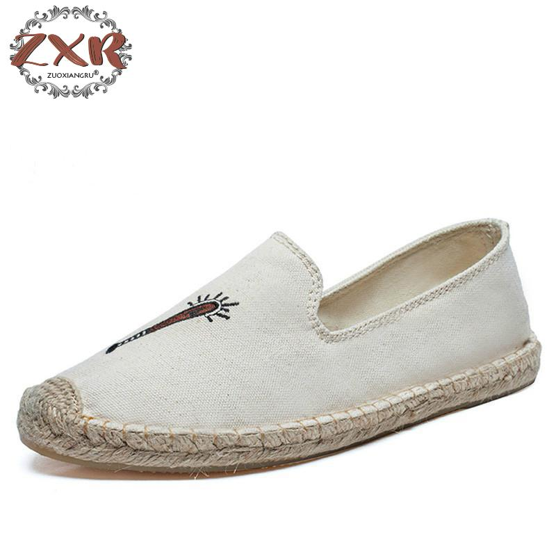 Zuoxiangru New Casual Shoes Woman Slip On Flat Shoes Women Sneakers Classic Canvas Loafers Espadrilles Casual Shoes Size 36-40 e lov new arrival luminous canvas shoes graffiti pisces horoscope couples casual shoes espadrilles women