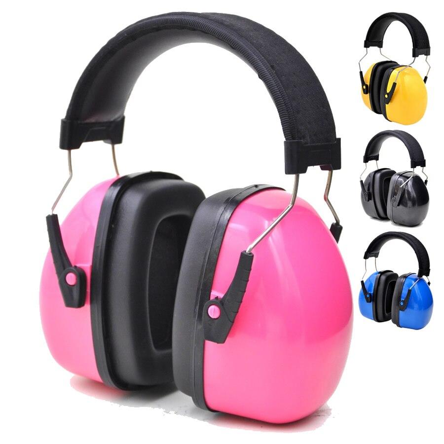 Enfants/adultes Anti-bruit tête cache-oreilles réglable bandeau oreille protecteur pour travail étude tournage boiserie Protection auditive