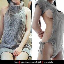 Японский Moe девушки девственница убийство спинки свитер сексуальный эротический косплей костюм вечерние ролевая игра для взрослых женщин мужчин пары Прямая поставка