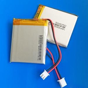 Image 4 - JST XHR 2.54mm 2pin 504050 3.7V 1500mAh נטענת סוללה lipo ליתיום פולימר עבור MP3 GPS DVD bluetooth מצלמה מקלדת MP4