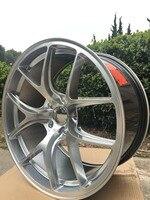 Сплав колеса Диски 4 Новый 19 Диски колеса для 2009 2010 2011 2012 2013 2014 Dodge Avenger W005