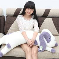 Sleeping Dog Toy Soft Toys Lying Kawaii Long Ears Plush Peluches Bebe For Girls Small Large