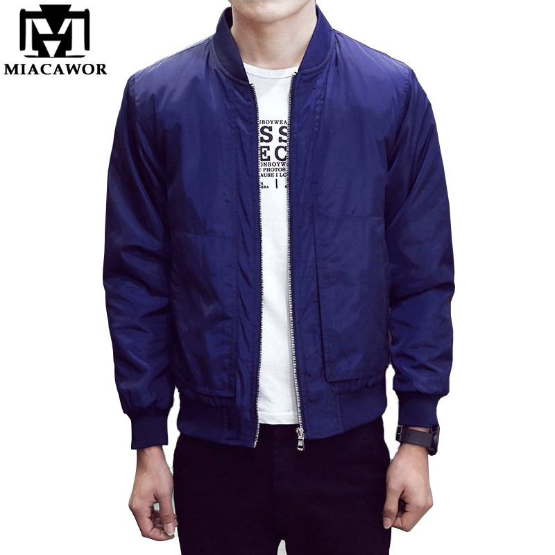 new spring men bomber jacket fashion men coats veste homme solid baseball jacket casual jaqueta. Black Bedroom Furniture Sets. Home Design Ideas