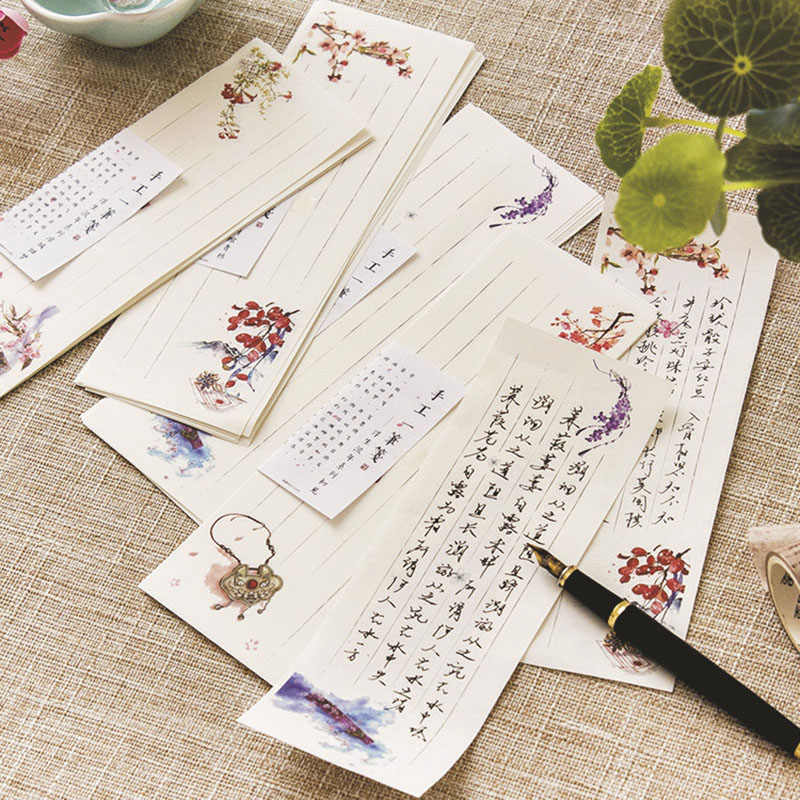 Detail Feedback Questions About 10pcs Chinese Style Vintage Letter