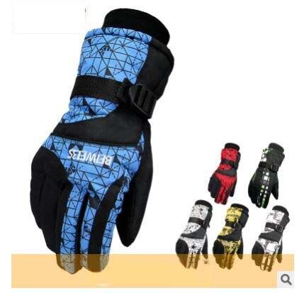 GLV865 men and women winter Ski font b gloves b font anti slip wear resisting cycling